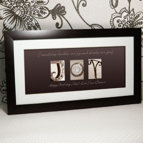 Personalised Affection Art Joy Large Frame